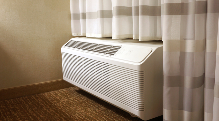 small narrow window air conditioner