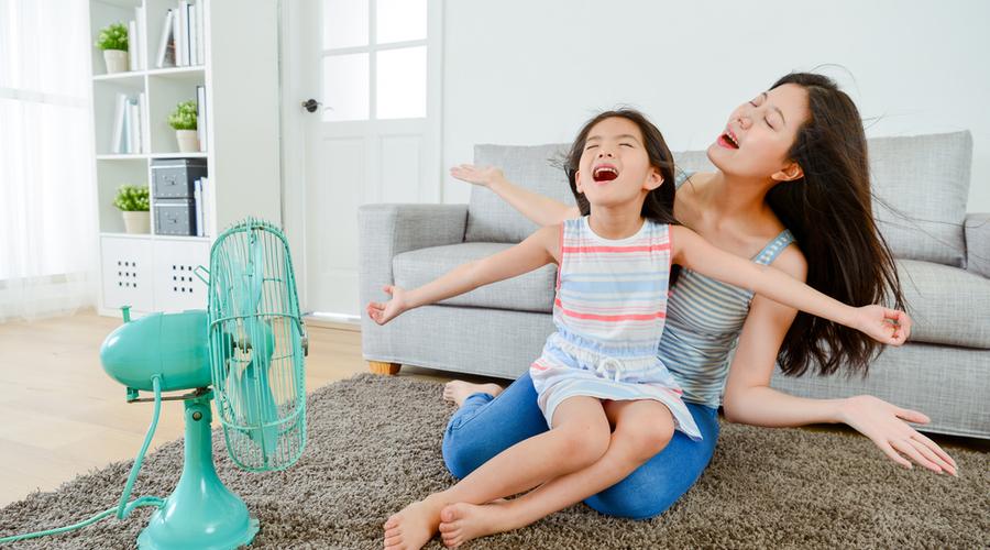 portable fans that blow cold air