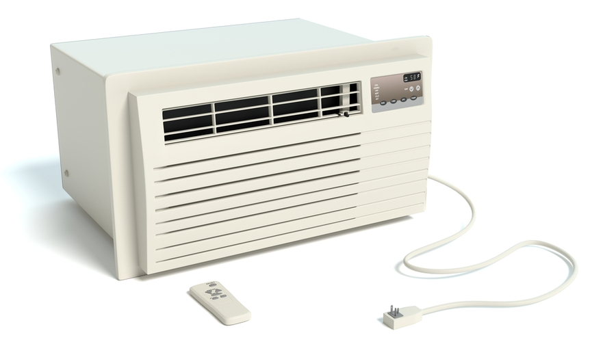 compact air conditioner for small window