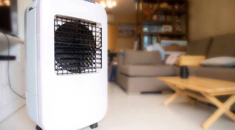 portable air conditioner that doesn't need a window for living room