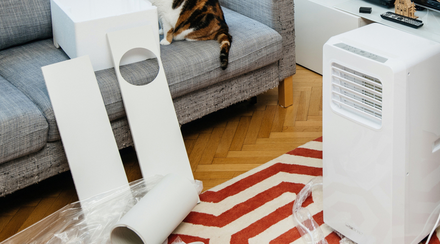 installing the most energy efficient portable air conditioner