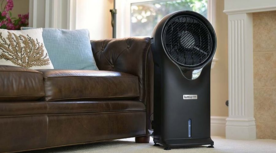 evaporative cooler for small living rooms