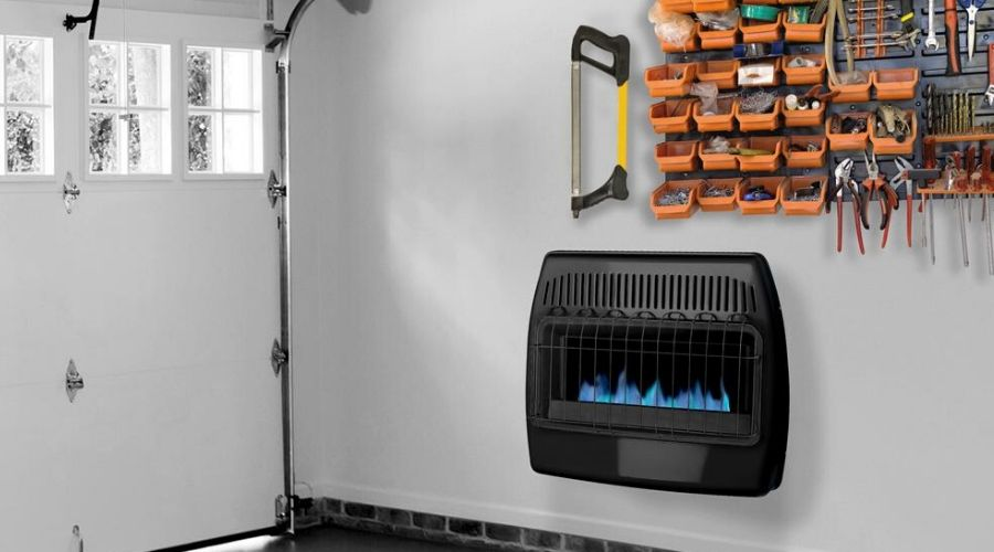 Dyna-Glo wall heaters for garage installed