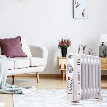 COSTWAY Oil Filled Radiator Heater for large room