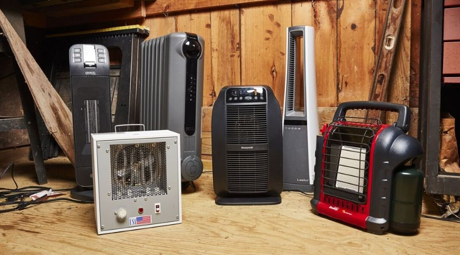 different types of the best energy efficient space heater for large room