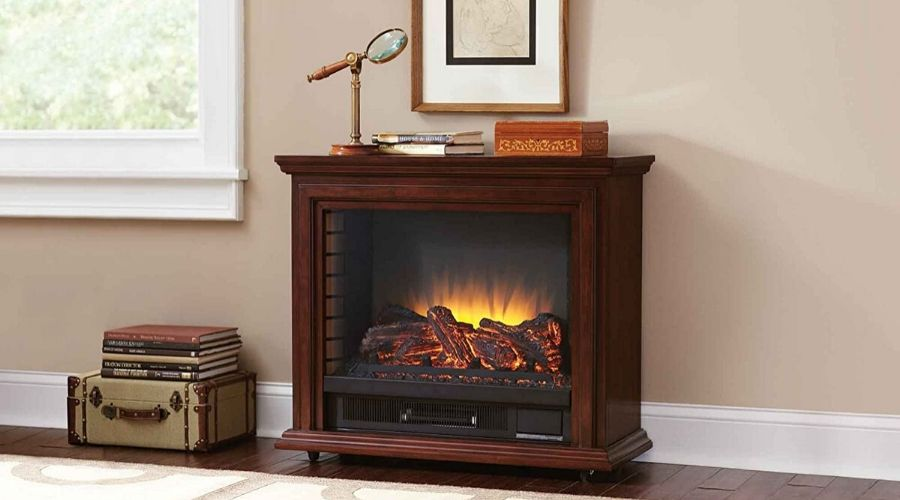 best electric fireplace for large room completely installed