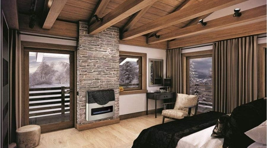 the best wall furnace installed in a bedroom
