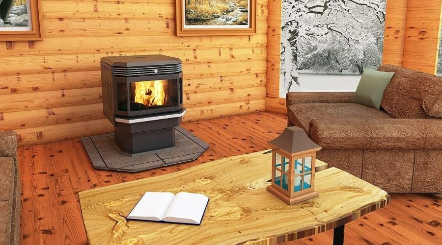 can the most efficient wood stove heat a whole house