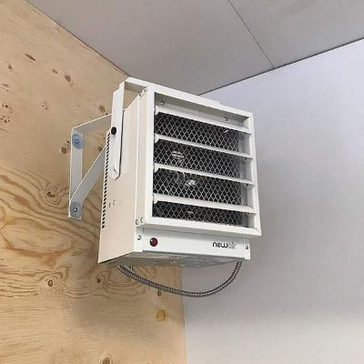 Where to place a 500 sq ft heater