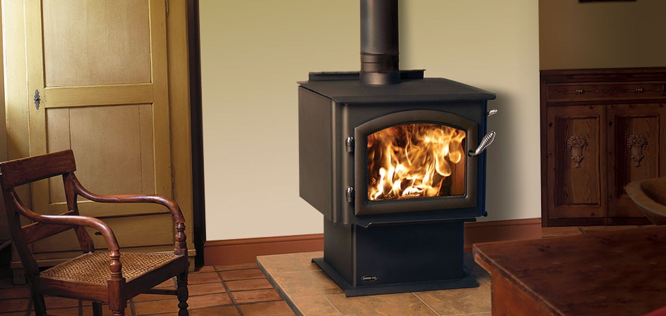how do wood stoves with blowers work
