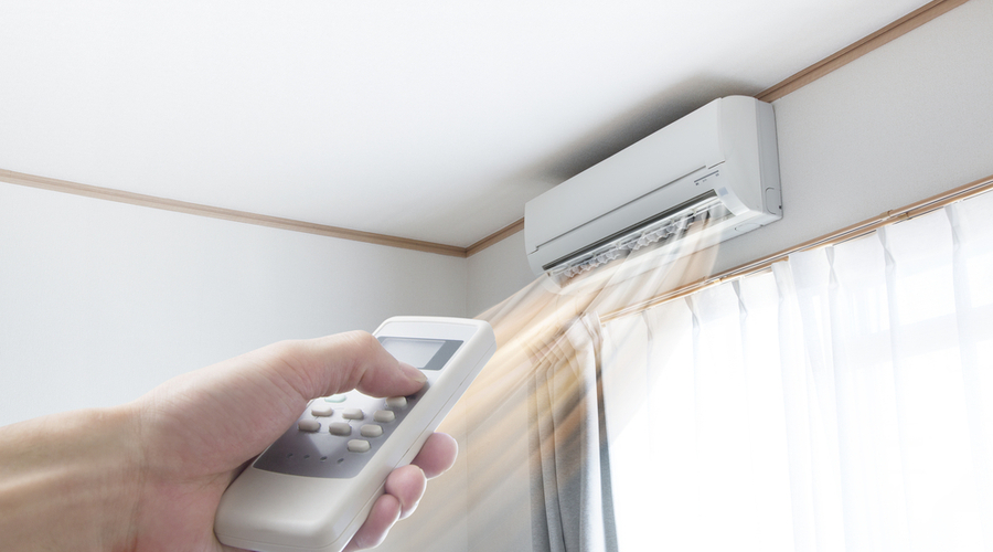 remote controlling the most energy efficient air conditioner