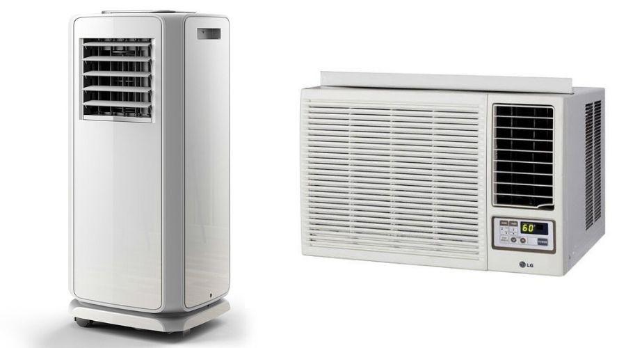 energy star portable AC vs window AC