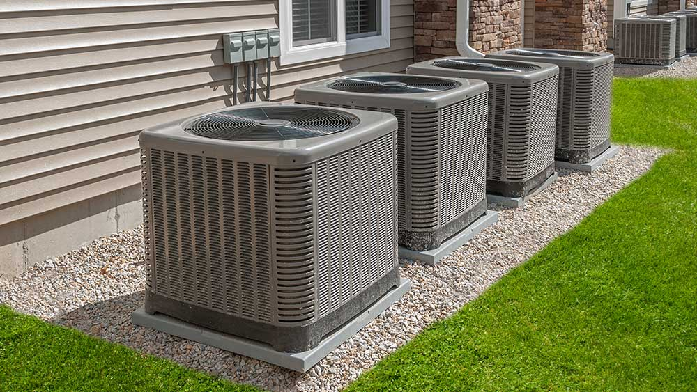 central air conditioner for apartment